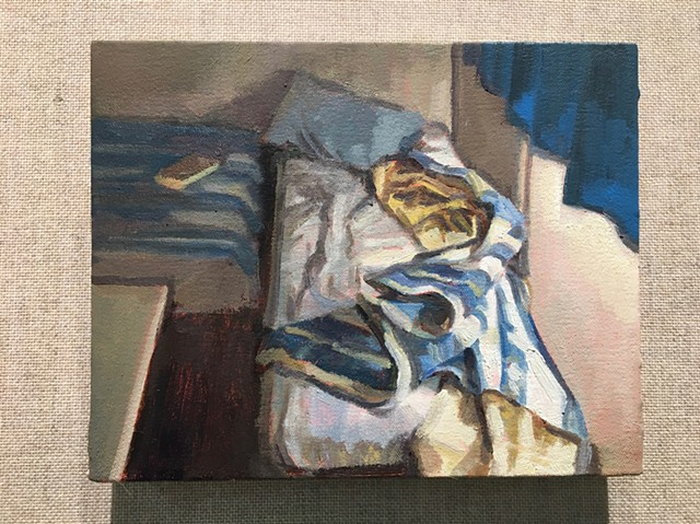 Untitled (Blue Blanket)