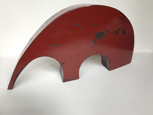 Painted Steel, Sculpture