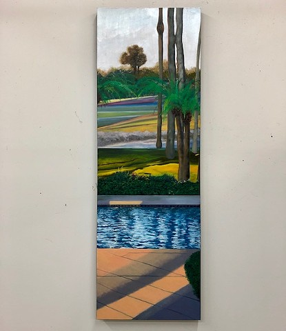 Florida landscape oil painting by Atlanta artist Joel Barr
