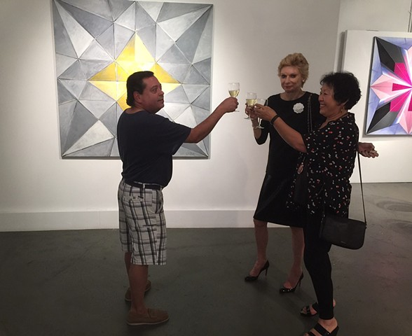 A toast to a successful opening!