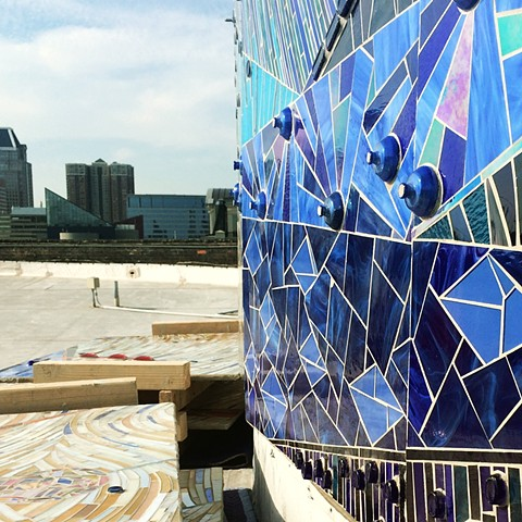 "The Roof //  ""The Crown"" // 800 Key Highway, The American Visionary Art Museum"
