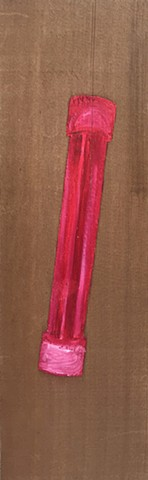 Diving Stick Demo: Beyond Hot Pink; On Cedar