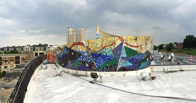 "The Roof of the American Visionary Art Museum // 800 Key Highway //  ""The Crown"""