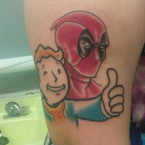 deadpool and fallout