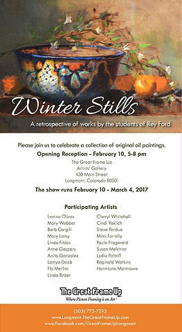 Winter Stills - February 2017 show