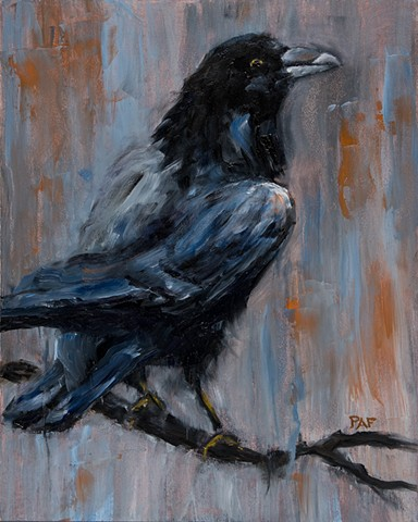 Nevermore Study - SOLD