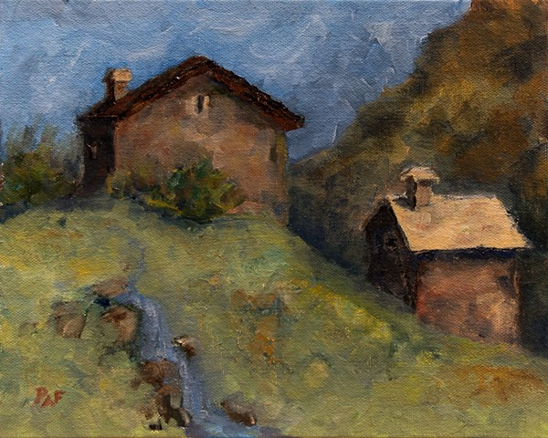 Mountain Hut - SOLD