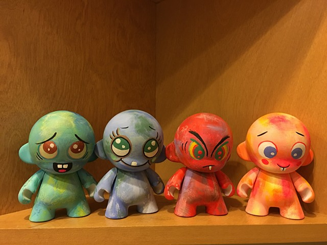 Some custom munnys