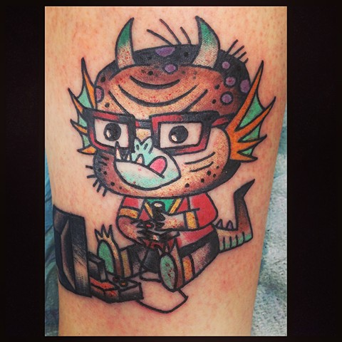 Kawaii monster,kawaii tattoo