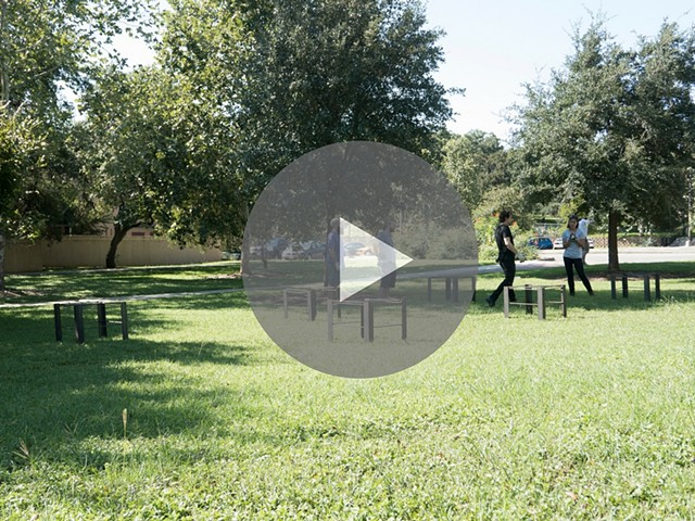 Time Lapse Installation of Range at Texas State University