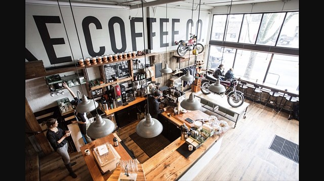 Retail Curation: Cafe & Apparel