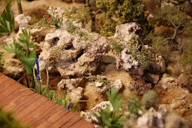 1/4 Scale Limestone Rock Formation of Florida Forest