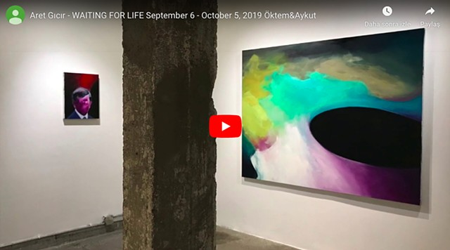 "ARET GICIR  ""Waiting for Life"" Exhibition Video Directed by Rumeysa Cebeci"