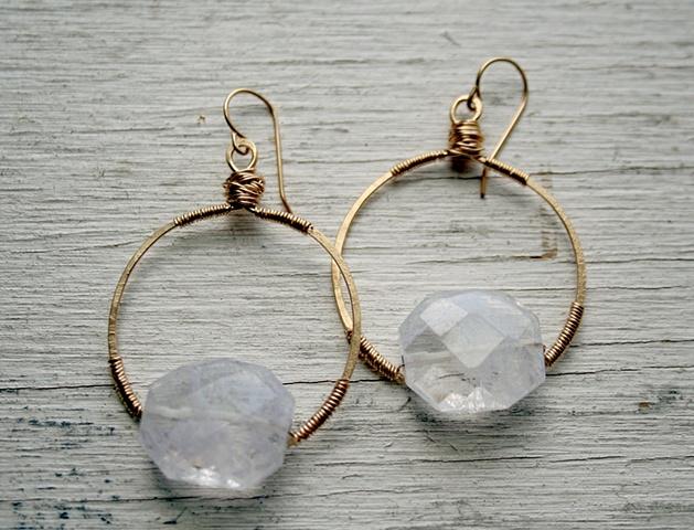 Diana Quartz Earrings