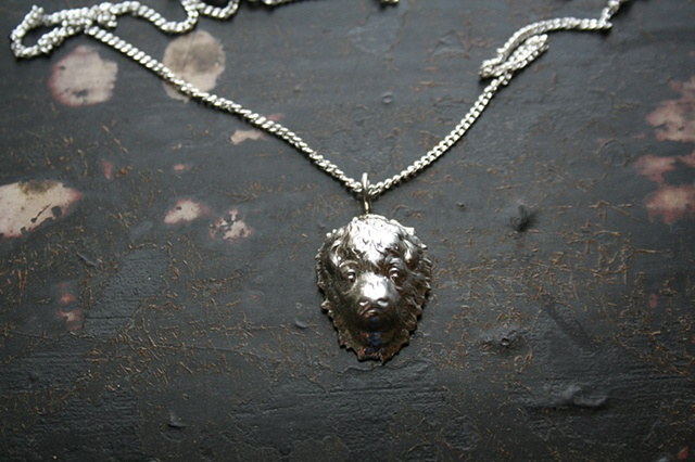 Sterling Silver Buffalo Necklace