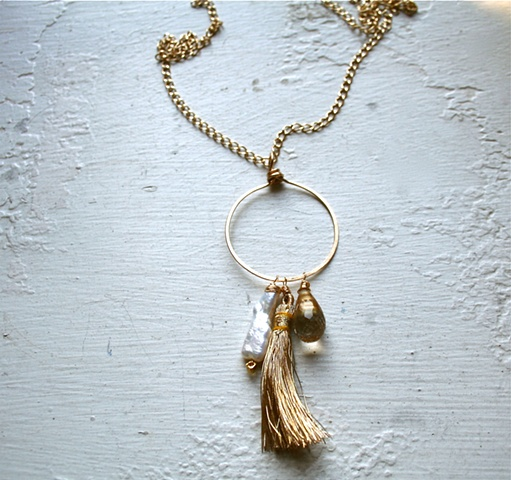 Talla Tassel Necklace