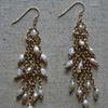 Pearl Water Fall Earring