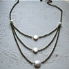 James Necklace with Pearl