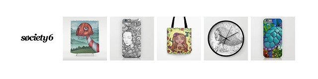 My Society6 Page