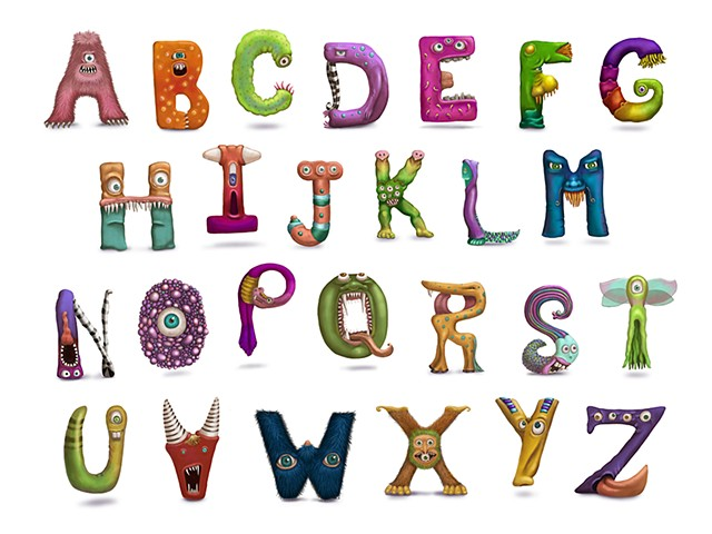 Alphabet Monsters