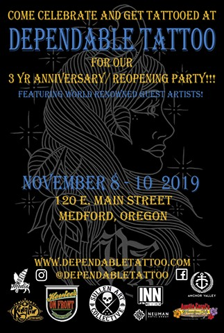 3YR ANNIVERSARY/ REOPENNING PARTY!
