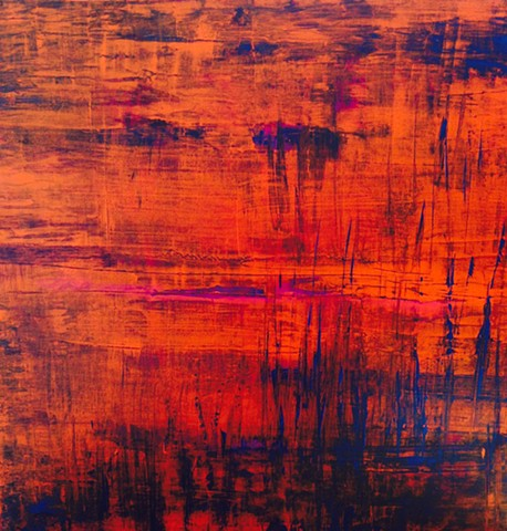 Reflections - Red/Orange
