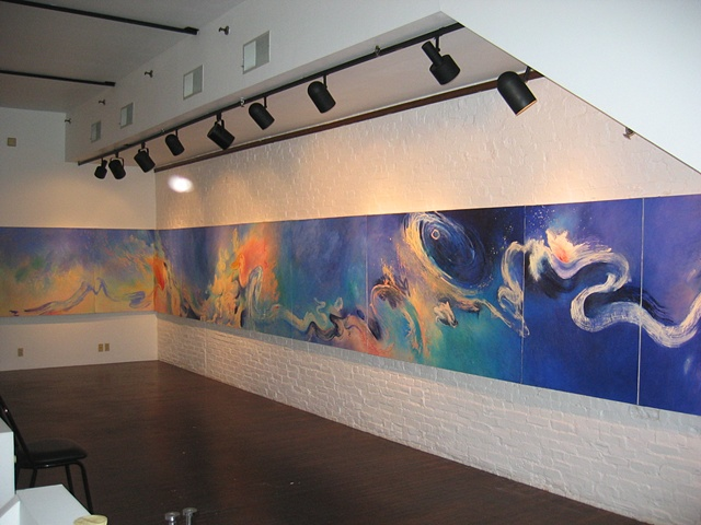 Sky Path; installation shot