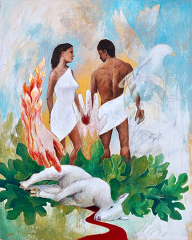 The Expulsion from Eden (The LORD God Clothes Adam and Eve)