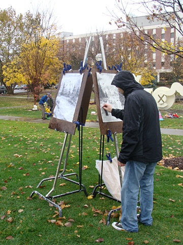 the joy of drawing (tent show 2008)