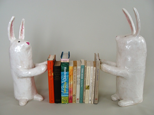 Every Book I Read in 2009 (Bunny Bookends)