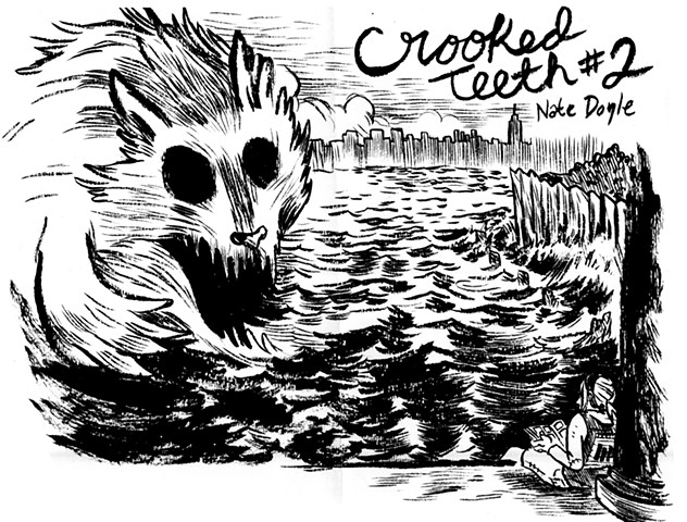 Crooked Teeth #2 Cover (spread)