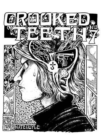 Crooked Teeth #7 cover illustration