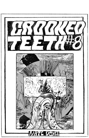 Crooked Teeth #8 cover illustration