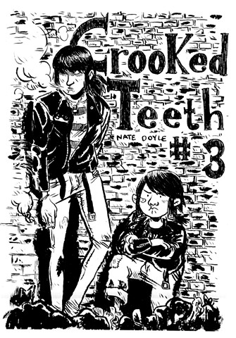 Crooked Teeth #3 Cover