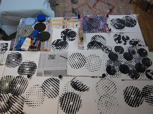 draw-a-thon, studio residency, Boston (USA)
