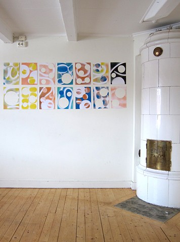Pen Pals, Studio Grid Installation, Sweden