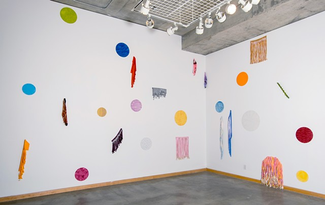 BFF, installation view, The Cube, Kamloops Art Gallery