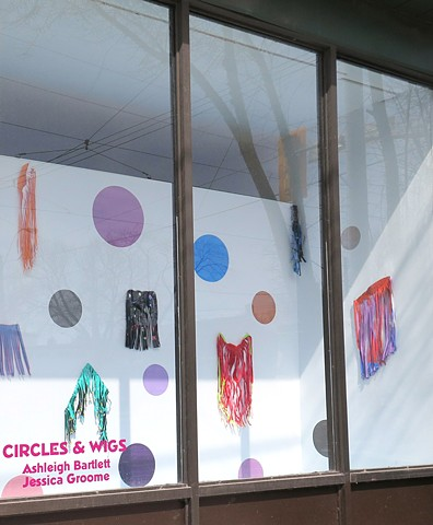 Circles and Wigs, HPI Window Toronto