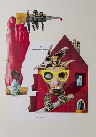 waltersegers, collage, analog, analogue, shame, South Africa, Cape Town, race, colonialism