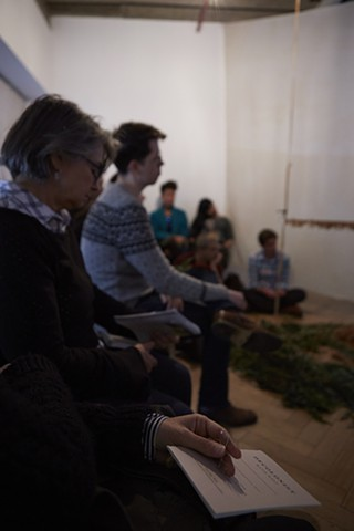 Decolonist: artist talk and meditation