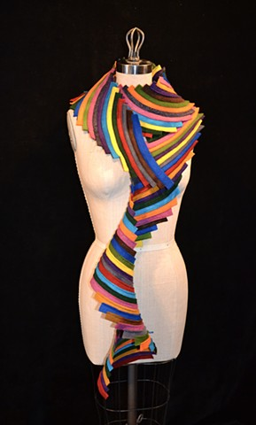 Colorful Spiral Scarf