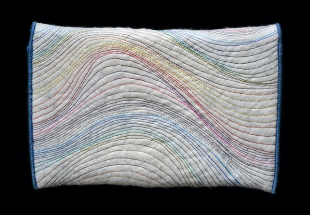 Taylor Painter-Wolfe, fiber art, textile art, felted wool, craft, fine art, wool, felt, dyeing, handmade, hand dyed, aerial, Tulsa, wearable, textiles, tiny house, studio, Tulsa, Tulsa artist