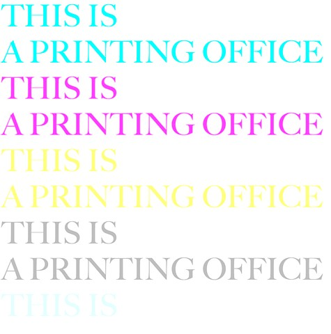 This is a Printing Office