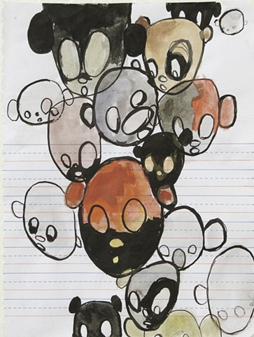 untitled (heads) #4