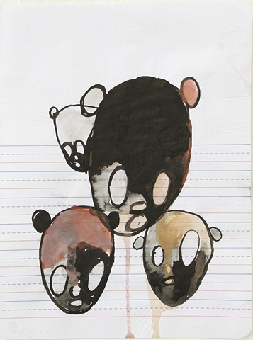 untitled (heads) #11