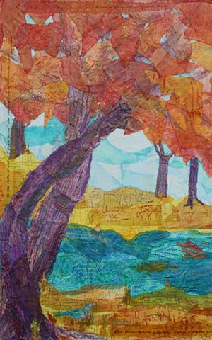Changing-Seasons Forest; Panel 1 - Autumn