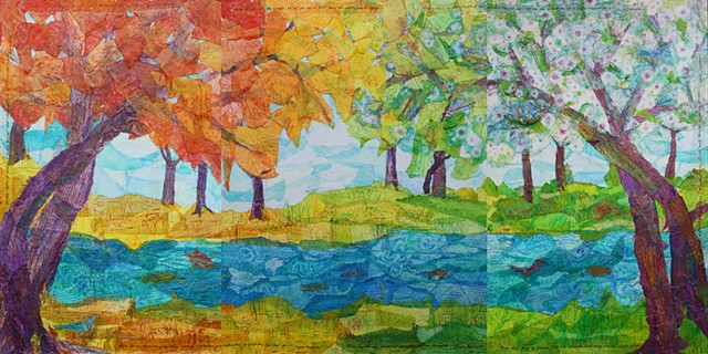 Changing-Seasons Forest; full view