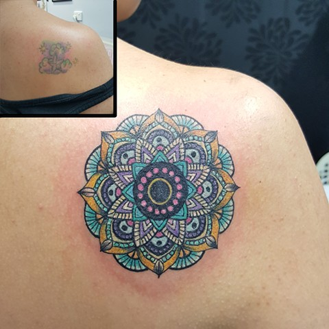 Mandala (cover up) by Allen Mertsock