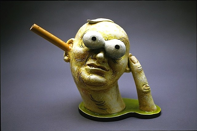"""Finger Man"" Teapot"