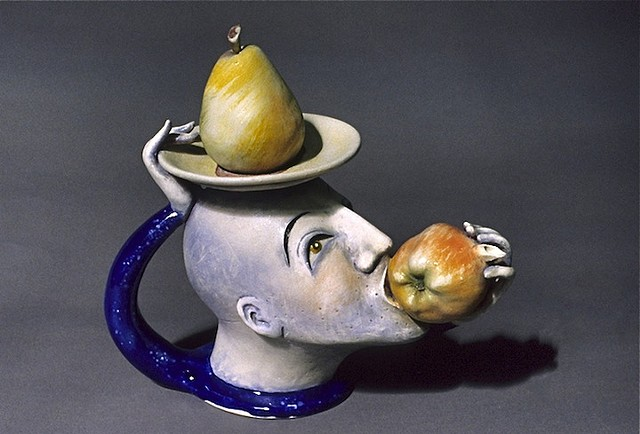 """Apple Breath"" Teapot"